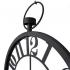 2666 B Ferforje Orta Boy İskelet Tamrakam Duvar Saati