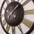 2678 BG Retro Metal İskelet Duvar Saati