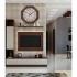 REGAL 2698 A2 Octagonal Shape Wooden (MDF) Big Size Wall Clock