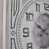 2755 S2 Aynalı Orta Boy Ahşap Duvar Saatı