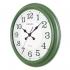 9108 H2 Yeşil Eskitme Büyük Boy Duvar Saati