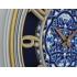9119 W2 Büyük Boy İskelet Kadran Retro Duvar Saati