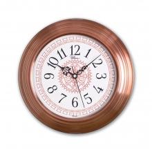 0080 C2 Bakır Renk Metal Duvar Saati