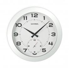0085 SW Metal Kasa 41 Cm. Beyaz Duvar Saati
