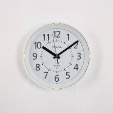 0225 WWL Gece Işıklı, Sese Duyarlı Duvar Saatı Beyaz