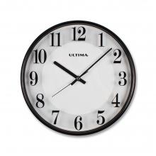 0251 BW Slim Line Wall Clock