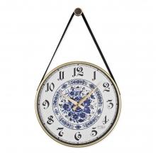 0639 W5 Retro Kayışlı Büyük Boy Duvar Saati