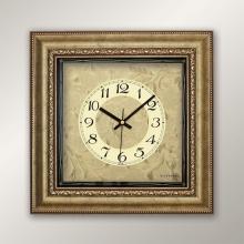1383 GG Rölyef Desen Duvar Saatı