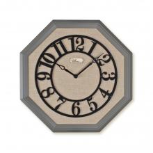 2098 SI Sekizgen Ahşap Duvar Saatı