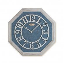 2098 WBU Sekizgen Ahşap Duvar Saatı