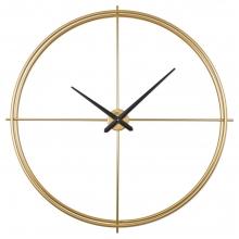 2649 G Ferforje Büyük Boy İskelet Duvar Saati