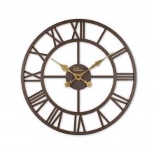 2654 A Ferforje 41 Cm. İskelet Duvar Saati