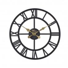 2654 B Ferforje 41 Cm. İskelet Duvar Saati