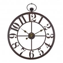 2667 A Ferforje Orta Boy İskelet Tamrakam Duvar Saati