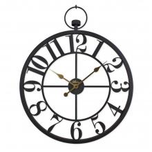 2667 B Ferforje Orta Boy İskelet Tamrakam Duvar Saati