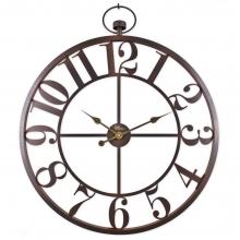 2668 A Ferforje Büyük Boy İskelet Tamrakam Duvar Saati