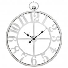 2668 S Ferforje Büyük Boy İskelet Tamrakam Duvar Saati