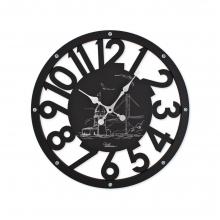 2680 B Ahşap İskelet Duvar Saati
