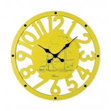 2681 Y Ahşap İskelet Duvar Saati
