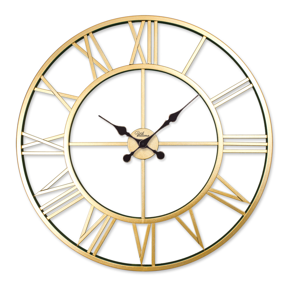 Ultima 2688 g ultima ferforje 76 cm skelet duvar saati 2688 g retro metal roman numerals skeleton wall clock amipublicfo Choice Image