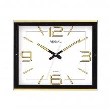 3205 W Metal Kasa 3d Kadran Beyaz Duvar Saati