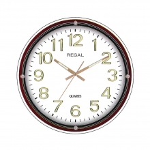 6852 W 3D Dial Round Wall Clock