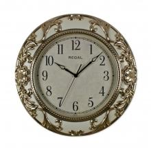 8502 G2 Metalize Kaplama Oymalı Duvar Saati
