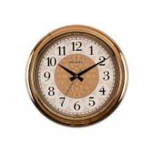 9107 RGI Rose Gold Metalize İşlemeli Kadran Duvar Saati