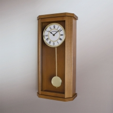 9291 EW Keywound Wooden Wall Clock