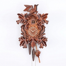 G 1101/4 Nu Cuckoo Clock 1 Day Movement Carved Style 40 Cm.