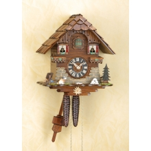G 1501 Cuckoo Clock 1 Day Movement Chalet Style 27 Cm.