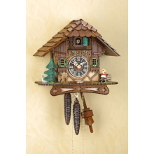 G 1506 Cuckoo Clock 1 Day Movement Chalet Style 23 Cm.