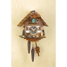 G 1509 Cuckoo Clock 1 Day Movement Chalet Style 25 Cm.