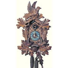 G 482/9 Cuckoo Clock 1 Day Movement Carved Style 38 Cm.