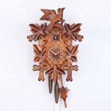 G 8100/4 Nu Cuckoo Clock 8 Day Movement Carved Style 40 Cm.