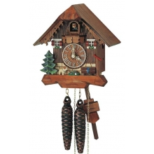 G 85/9 Cuckoo Clock 1 Day Movement Chalet Style 20 Cm.