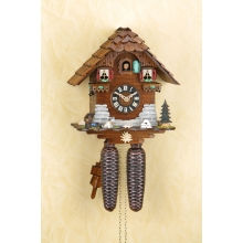 G 8501 Cuckoo Clock 8 Day Movement Chalet Style 27 Cm.