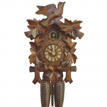 G 8T 100/9 Cuckoo Clock 8 Day Movement Carved Style 34 Cm.