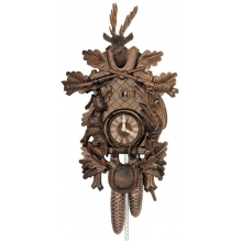 G 8T 285/9  Cuckoo Clock 8 Day Movement Carved Style 60 Cm.
