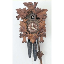 G 90/9 Cuckoo Clock 1 Day Movement Carved Style 27 Cm.