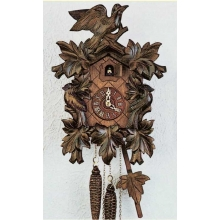 G 92/9 Cuckoo Clock 1 Day Movement Carved Style 30 Cm.