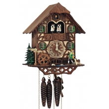 G MT 2283/9 Cuckoo Clock 1 Day Movement Chalet Style 31 Cm.