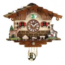 GQ 2036 P Black Forest Pendulum Clock Quartz Movement 16 Cm.