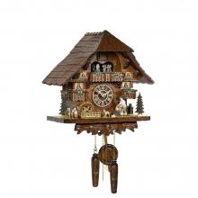 GQ 4260 MT Cuckoo Clock Quatrz Movement Chalet Style 45 Cm.