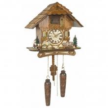 GQ 451 Cuckoo Clock Quatrz Movement Chalet Style 30 Cm.