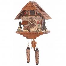 GQ 475 M Cuckoo Clock Quatrz Movement Chalet Style 35 Cm.