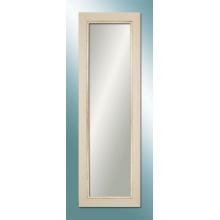 M 1369 W 40120 White Wooden Color Mirror
