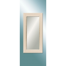 M 1369 W 4080 White Wooden Color Mirror